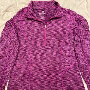 90 degree workout quarter zip jacket